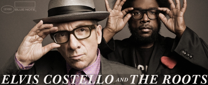 Elvis Costello and the Roots header